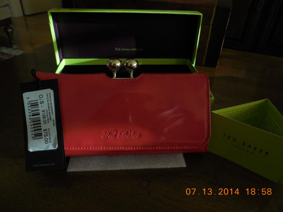 79e09f135 Ted Baker Red Wallet - Tradesy