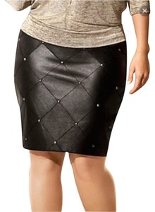 Lane Bryant Skirt Blac
