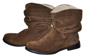 Bearpaw Slouch Boho Bohemian Suede Brown Boots