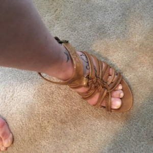 Madden Girl Tan Wedges