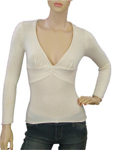 Catherine Malandrino V-neck Empire Waist Sweater
