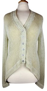 Twelfth St. by Cynthia Vincent Knit Comfortable Shimmer Sparkle Cardigan