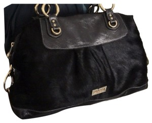 PulicatiItalian Made Bag Satchel in Black