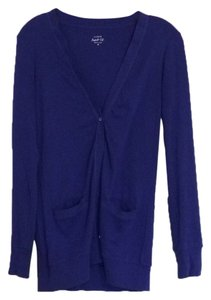 J.Crew Sweater Blue Cardigan