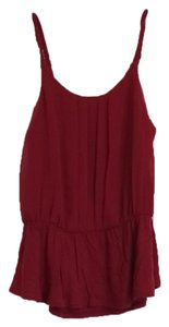 Express Tank Tank Top Crimson red