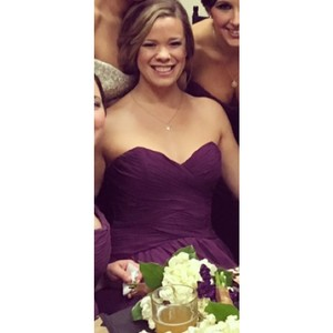 Mori Lee Eggplant Dress