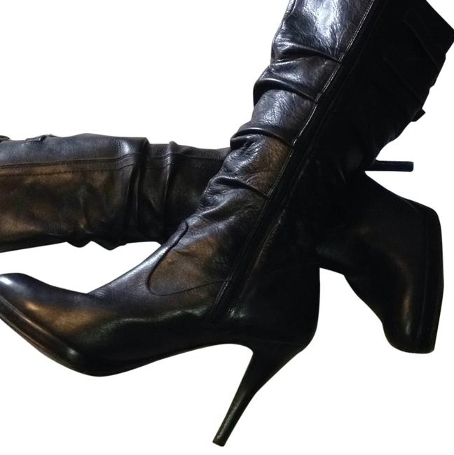 Item - Black Leather Boots/Booties Size US 10 Regular (M, B)