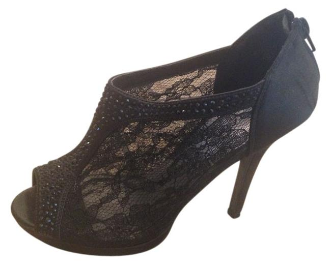 Item - Black Lace Shootie Formal Shoes Size US 8 Regular (M, B)