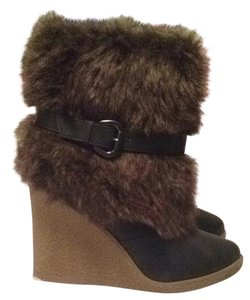 Charlotte Russe Brown Wedges