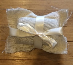 Lovely Pillow Insert For Ringbearer Book