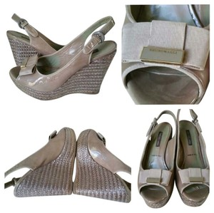 Bruno Magli Gray Wedges
