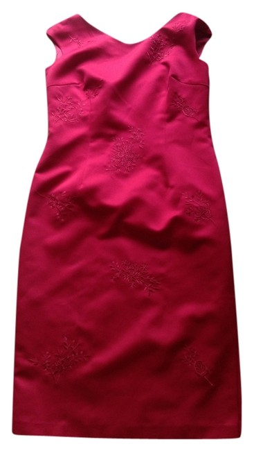 Preload https://img-static.tradesy.com/item/10807855/maggy-london-red-knee-length-cocktail-dress-size-12-l-0-1-650-650.jpg