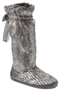 Candie's Bootie Glitter Greay Boots