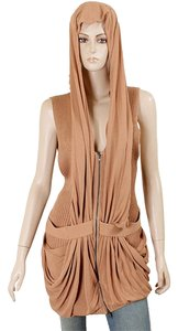 Jean-Paul Gaultier Knit Vest Sleeveless Drape Sweater