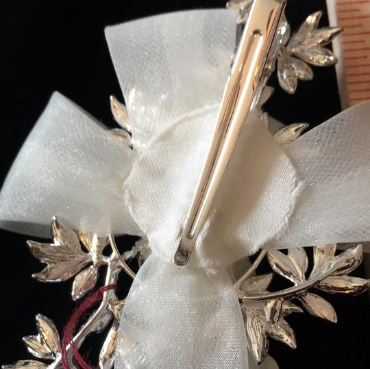 J.L. Johnson Bridals Ivory/Silver Hair Accessory Image 2