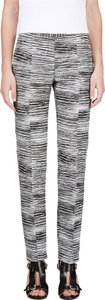 Calvin Klein Collection Prada Fendi Chloe Rochas Trouser Pants Black White