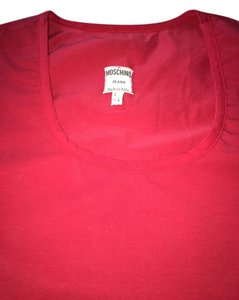 Moschino T Shirt Red