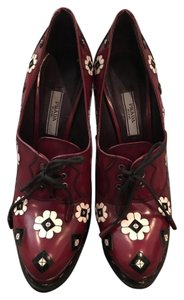 Prada Burgundy Pumps