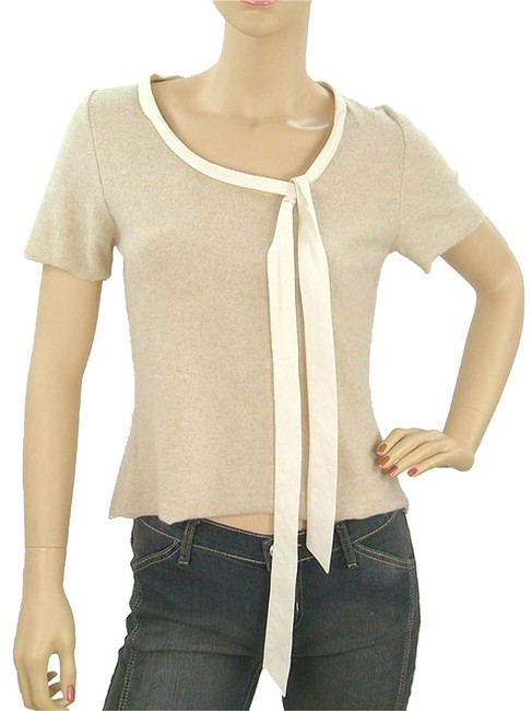 Marni Scoop Back Cashmere Knit Sweater