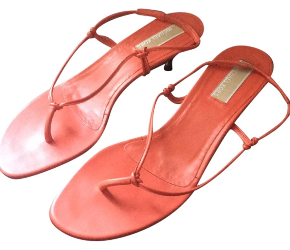 cd9e9732d6ec Michael Kors Coral Sandals Size US 7 Regular (M