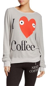 Wildfox Coffee Baggy Beach Jumper Sweater