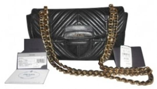 Preload https://item2.tradesy.com/images/prada-nappa-mosaico-blackquilted-leather-shoulder-bag-1081-0-0.jpg?width=440&height=440