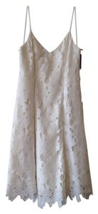 Vera Wang short dress Ivory on Tradesy