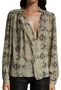 By Malene Birger Top snakeprint