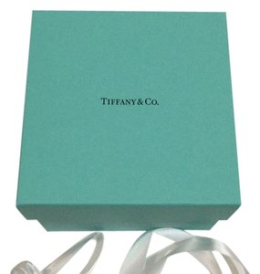 Tiffany & Co. Tiffany & Company Blue Storage Box With Ribbon