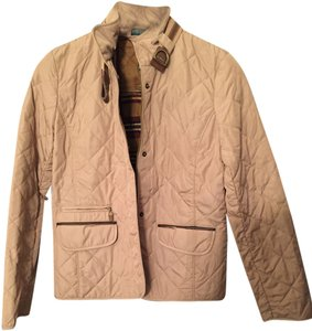 Ralph Lauren Country Equestrian Quilted Quilted Tan Jacket