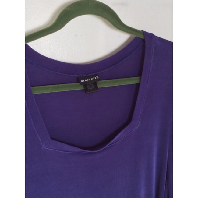 Citiknits Top Violet blue Image 1