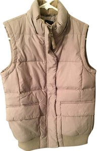 Gap Quilted White Vest