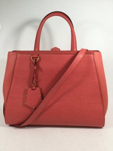 Fendi 2jours 3jours Satchel Tote in Rose