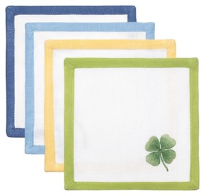 Tory Burch Lucky Charm Cocktail Napkins