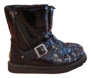 UGG Australia Ugg Patent Leather Ugg black Boots