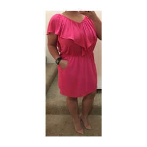 Tibi short dress Pink on Tradesy