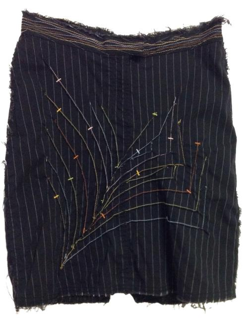 bebe Skirt Black with multi color