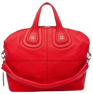 Givenchy Nightingale Hobo Tote in Red