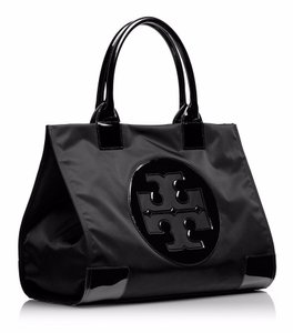 Tory Burch Ella Nylon Tote In Black