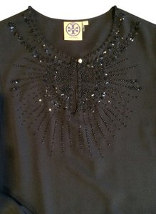 Tory Burch Top Black Silk