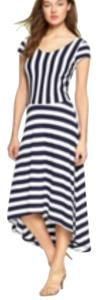 White/navy Maxi Dress by Gap