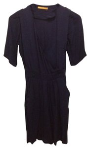 Sessun short dress Navy Steven Alan V-neck Wrap on Tradesy