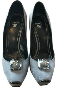 Nando Muzi Gray Pumps