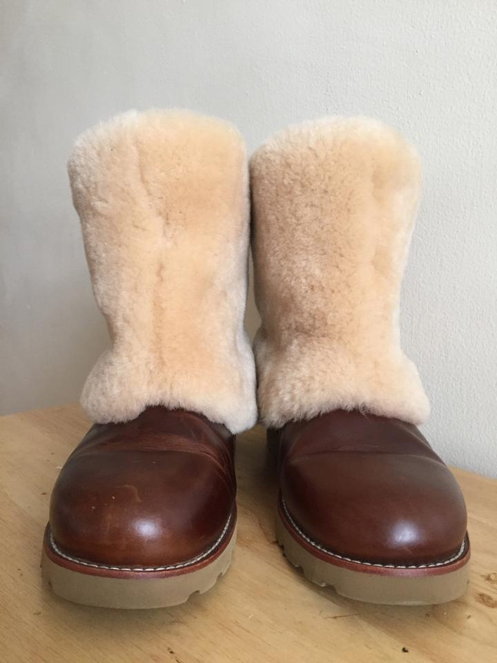 30e9c2a33d3 UGG Australia Chestnut Leather 1001761 Boots/Booties Size US 9 Regular (M,  B) 53% off retail