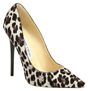 Jimmy Choo Pump Quartz Leopard Print Pumps