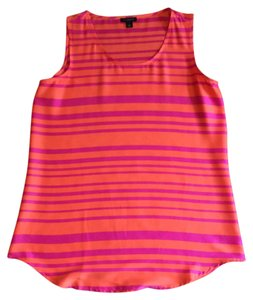 Ann Taylor Top Pink and orange