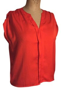 Ann Taylor LOFT Top Red