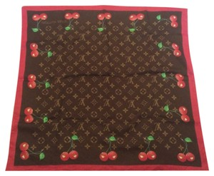Louis Vuitton Louis Vuitton Cerise Cherry Scarf