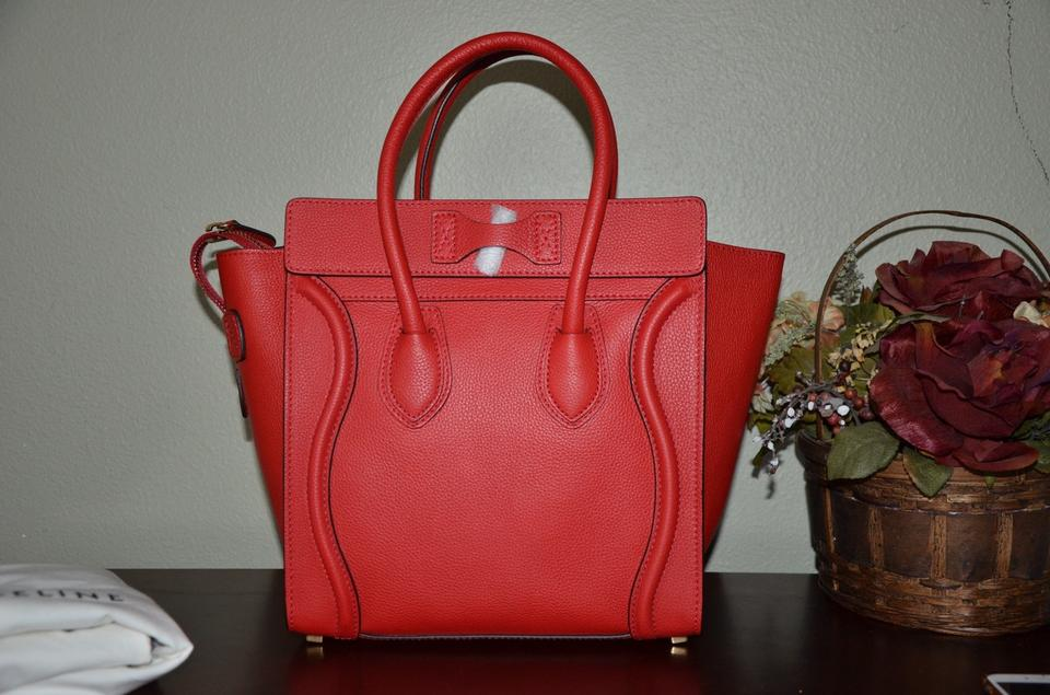 celine wallet price - C��line Coquelicot RED COQUELICOT Tote Bag on Sale, 11% Off | Totes ...