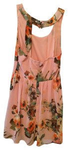 Urban Outfitters short dress Pink Floral on Tradesy